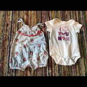 Baby Gap two piece set